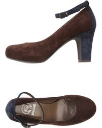 G.p. Per Noy Bologna Brown Pump - Lyst