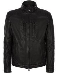 Boss Black Mclaren Biker Jacket - Lyst