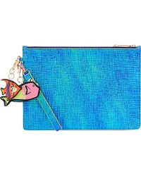 Sophia Webster - Flossy Iridescent Pouch - Lyst