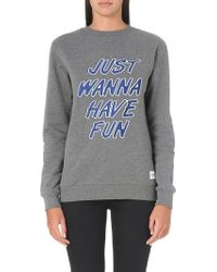 A Question Of - Just Wanna Have Fun Sweatshirt - Lyst