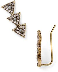 House of Harlow 1960 Pave Tessellation Earrings