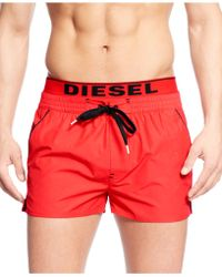 Diesel Bmbx-barrely Swim Shorts - Lyst
