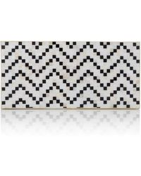 Nathalie Trad Mother Of Pearl Papilio Clutch - Lyst