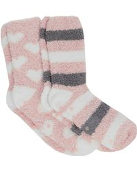 Oasis - Set Of Cosy Lounge Socks - Lyst