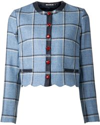 House Of Holland Plaid Tweed Coco Jacket - Lyst