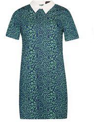 Pixie Market | Sister Jane Fierce Peter Pan Collar Dress | Lyst