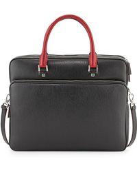 Ferragamo - Revival Two-tone Slim Briefcase - Lyst