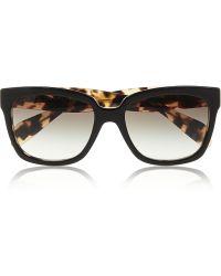 Prada D-Frame Acetate Sunglasses - Lyst
