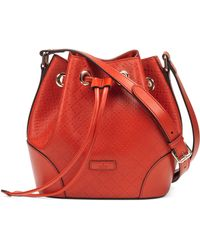 Gucci Bright Diamante Small Bucket Bag - Lyst