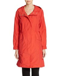 Eileen Fisher Plus Plus All-Weather Coat - Lyst