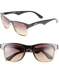 Carrera 52Mm Sunglasses - Shiny Black - Lyst