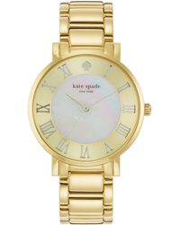 Kate Spade Gramercy Grand Watch - Lyst