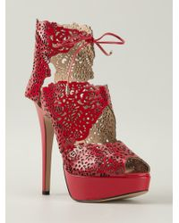 Charlotte Olympia 'Belinda' Sandals - Lyst