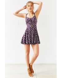 Kimchi Blue Scarlett Fit + Flare Dress - Lyst