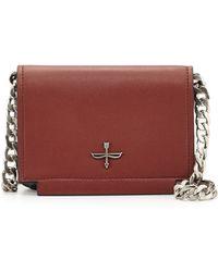 Pour La Victoire Soiree Leather Mini Crossbody Bag - Lyst