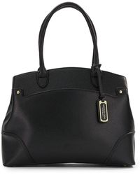 London Fog - Faux Saffiano Leather Shopper - Lyst