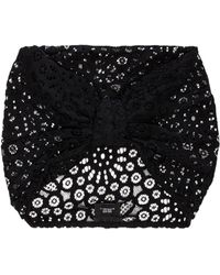Anna Sui - Circle Daisy Hat in Black - Lyst