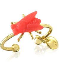 Les Nereides - Bijoux Miniatures Fly Ring - Lyst