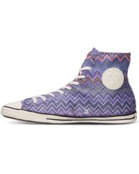 Converse Women'S Chuck Taylor All Star Fancy Hi Casual Sneakers From Finish Line purple - Lyst