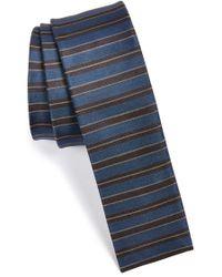 W.r.k. - Stripe Silk Tie - Lyst