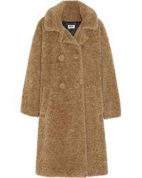 Sonia By Sonia Rykiel Oversized Faux Fur Coat - Lyst