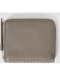 AllSaints - Club Leather Coin Purse - Lyst