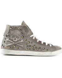 Philipp Plein High Risk Trainers - Lyst