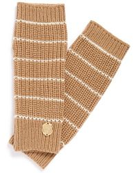 Vince Camuto - Stripe Arm Warmers - Lyst