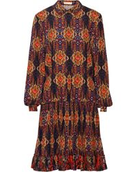 Matthew Williamson Printed Stretch-silk Dress - Lyst