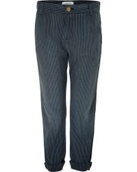 Current/Elliott Captain Trousers - Lyst