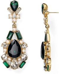 Kate Spade Uptown Glow Chandelier Earrings - Lyst