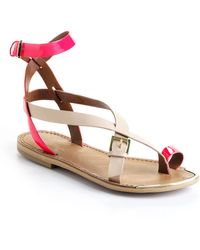 Boutique 9 Pryalis Leather Sandals - Lyst