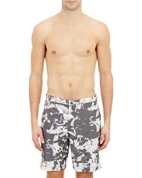 Theory Alesso Swim Trunks - Lyst