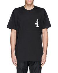Givenchy Pin-Up Model Logo Print T-Shirt - Lyst