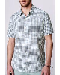 Faherty Brand Ss Ventura Shirt - Lyst
