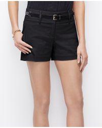 Ann Taylor City Shorts - Lyst