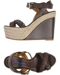Ralph Lauren Collection Espadrilles - Lyst