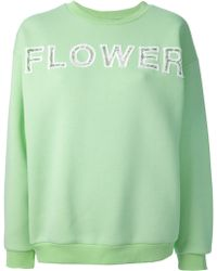 Christopher Kane Flower Sweater - Lyst