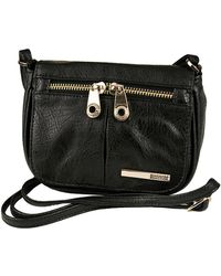 Kenneth Cole Reaction Wooster Street Faux Leather Small Flap Crossbody Bag - Lyst