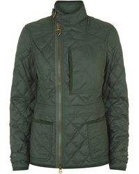 Ralph Lauren Blue Label Diamondquilted Motto Jacket - Lyst