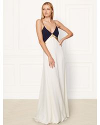 Ralph Lauren Collection Silk Charlotte Gown - Lyst