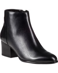Vaneli For Jildor Carleen Ankle Boot Black Leather - Lyst
