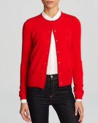 C By Bloomingdale's Cashmere Cardigan - Lyst