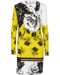 Prabal Gurung Floralprint Modalblend Jersey Dress - Lyst