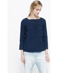 Need Supply Co. Janis Blouse blue - Lyst