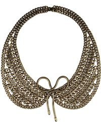 Dannijo Gold Necklace - Lyst