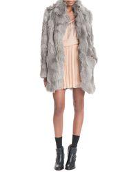 Plenty by Tracy Reese - Faux Fur Cuddle Coat - Lyst