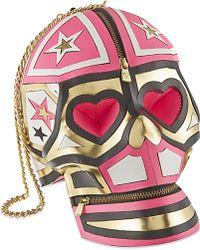Manish Arora - Neon Hearts Skull Bag - For Women - Lyst