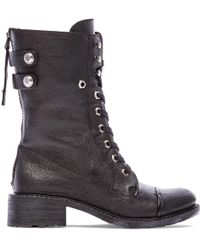 Sam Edelman Black Darwin Boot - Lyst