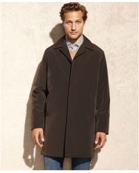 Calvin Klein Brown Park Raincoat - Lyst